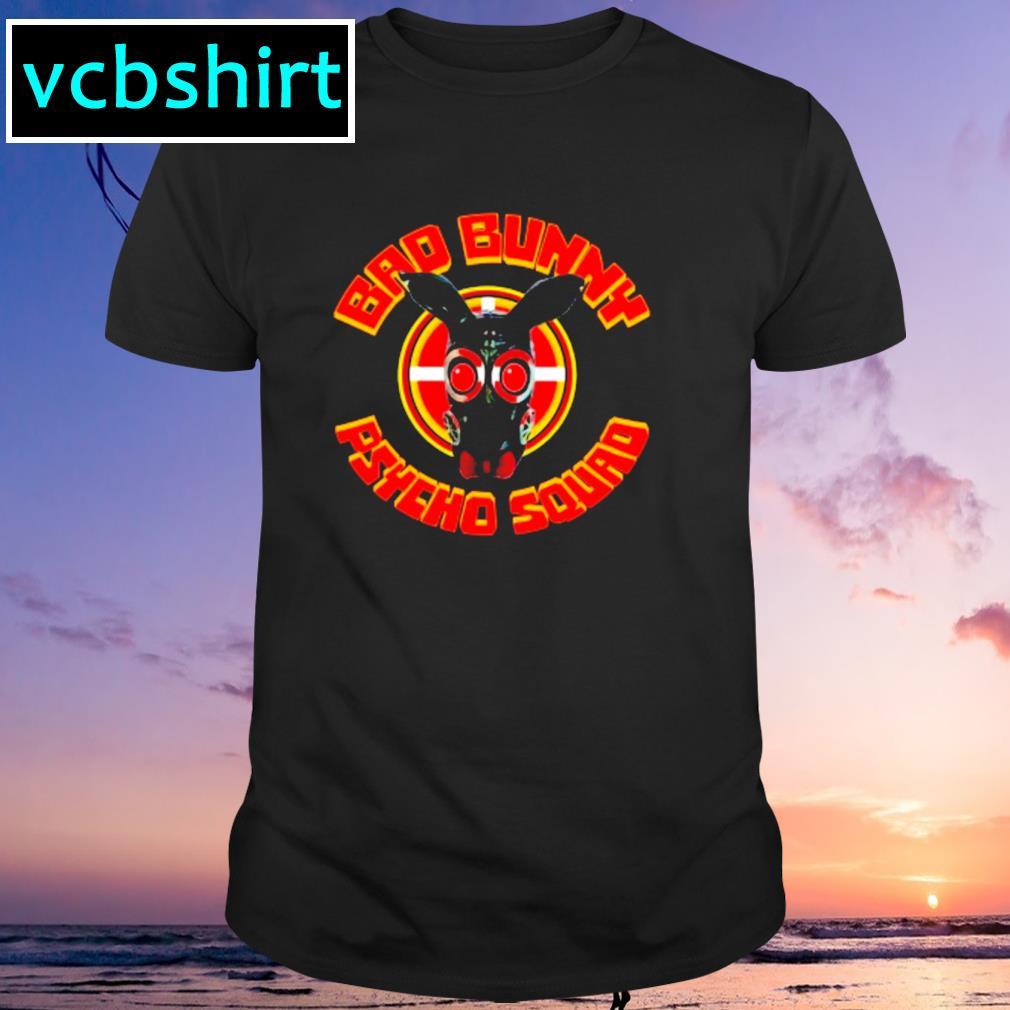 Bad bunny psycho squad shirt