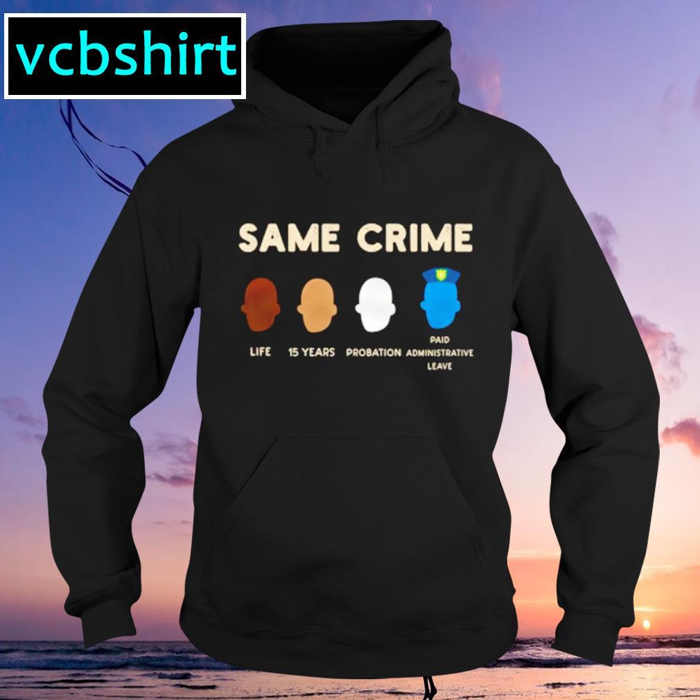 Colin Kaepernick Same crime Hoodie