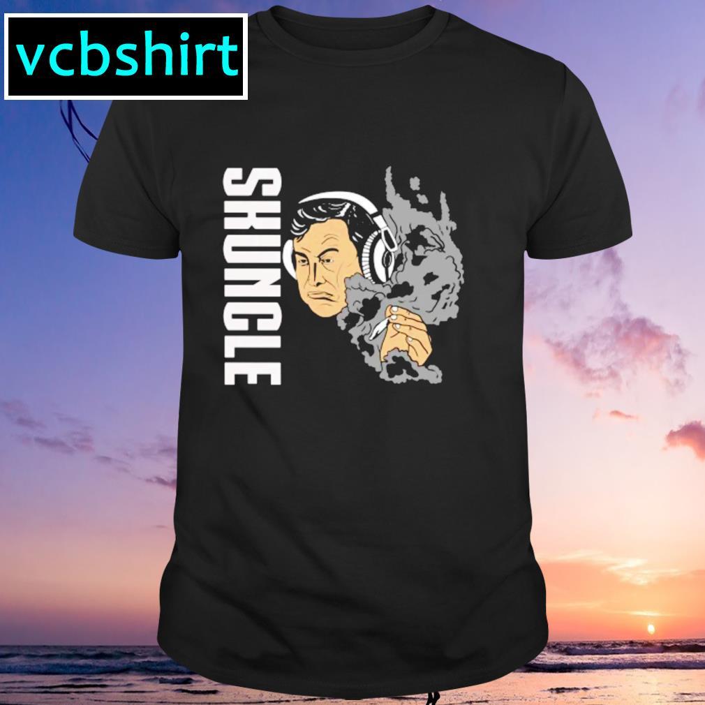 Elon Musk smoking weed skuncle shirt
