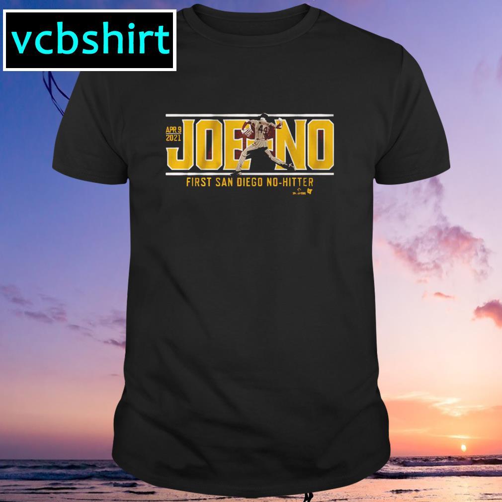 Joe-No first San Diego no-hitter shirt