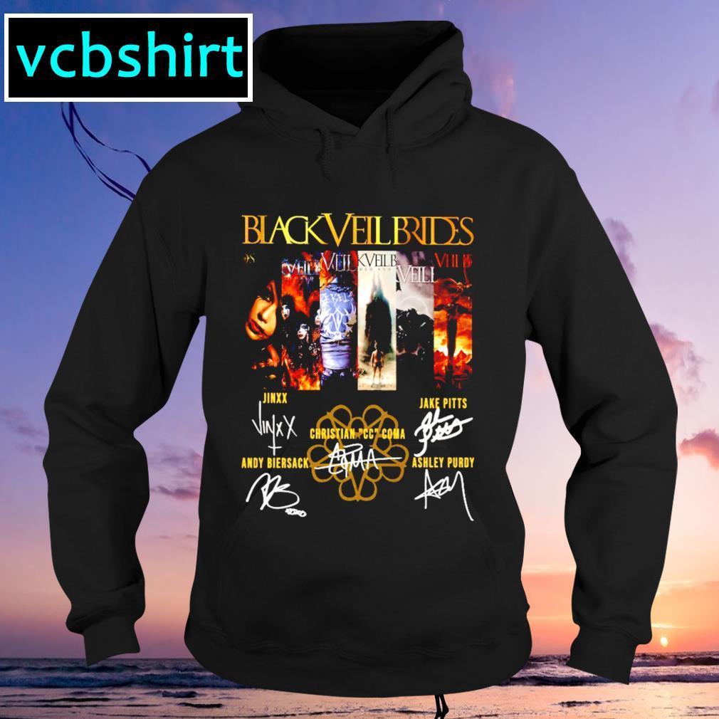 Black Veil Brides signature s Hoodie