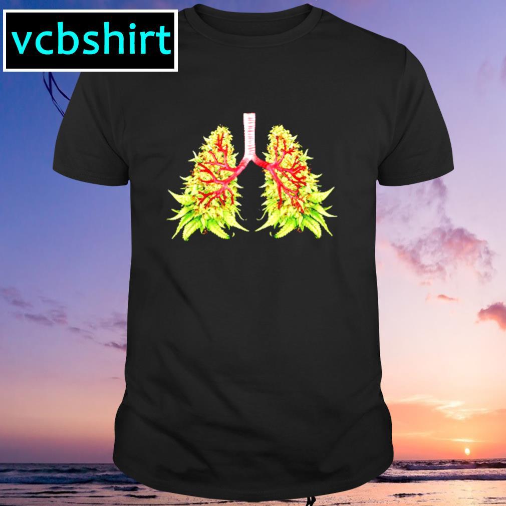 Cannabis lungs shirt