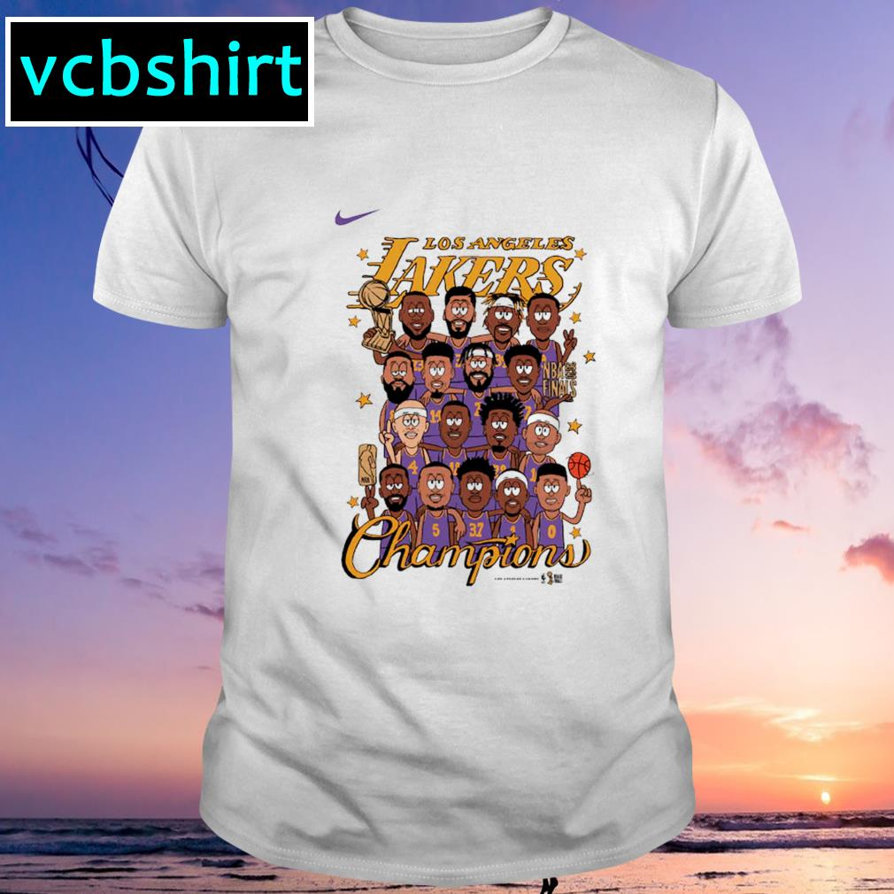 Nike Los Angeles Lakers Preschool champion shirt