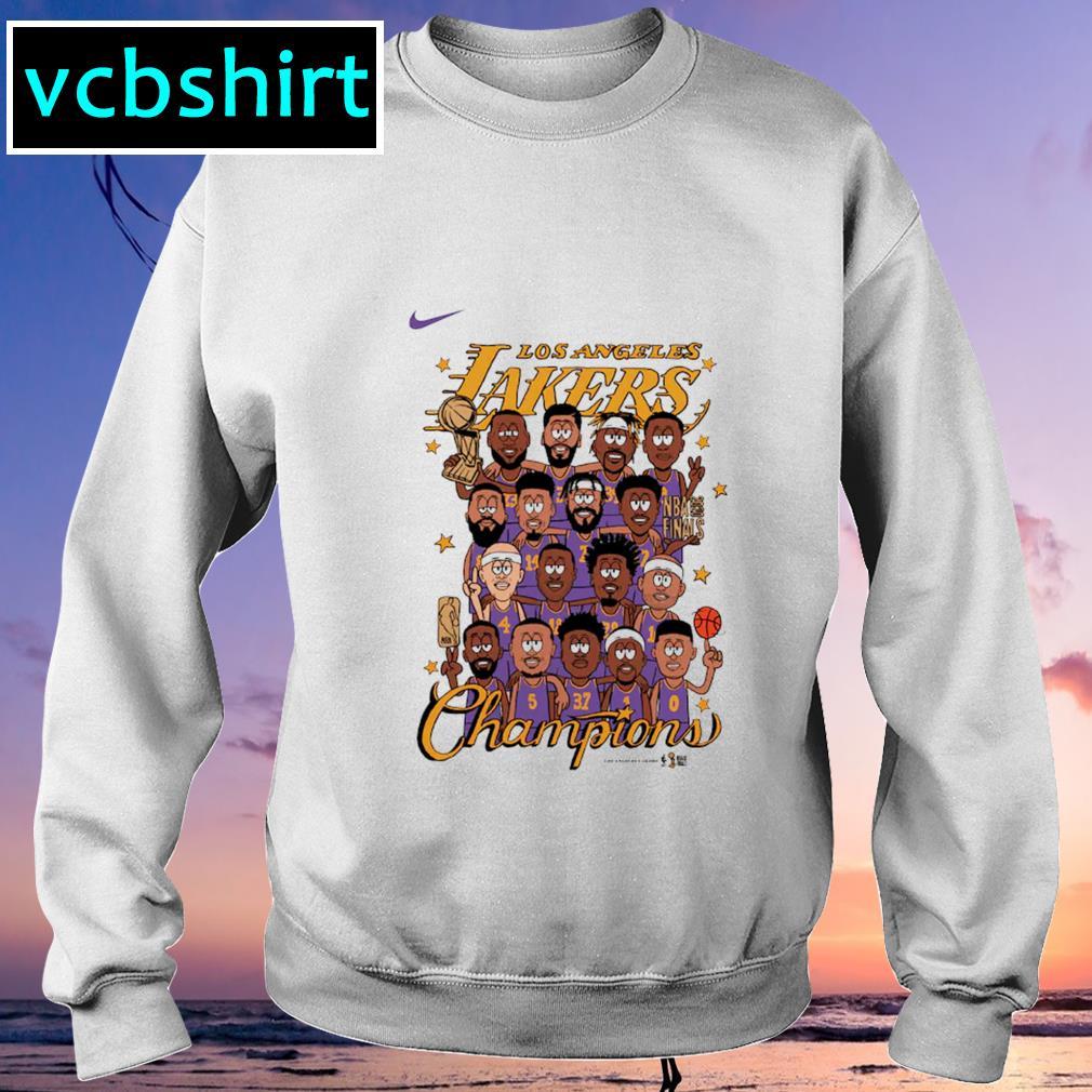Nike Los Angeles Lakers Preschool champion s Sweater