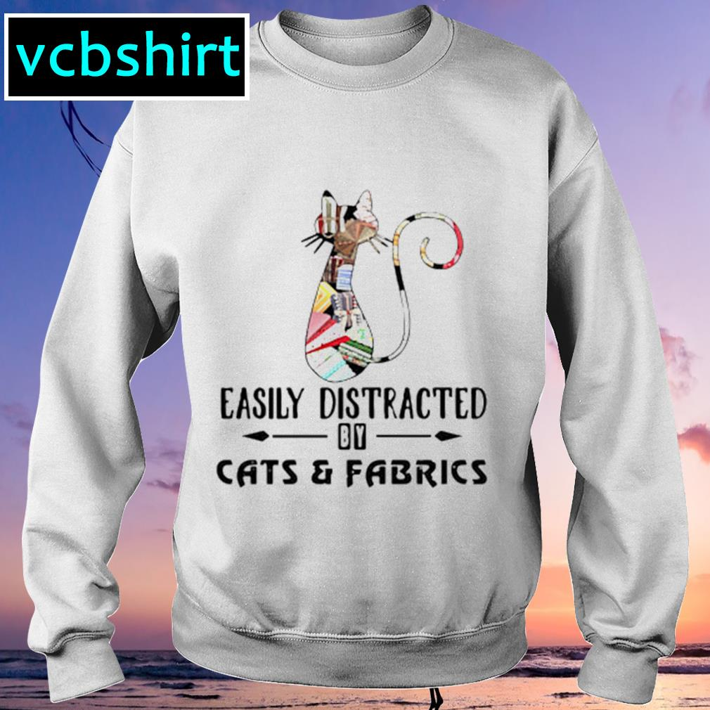 Official Cat easily distracted by cats and fabrics s Sweater
