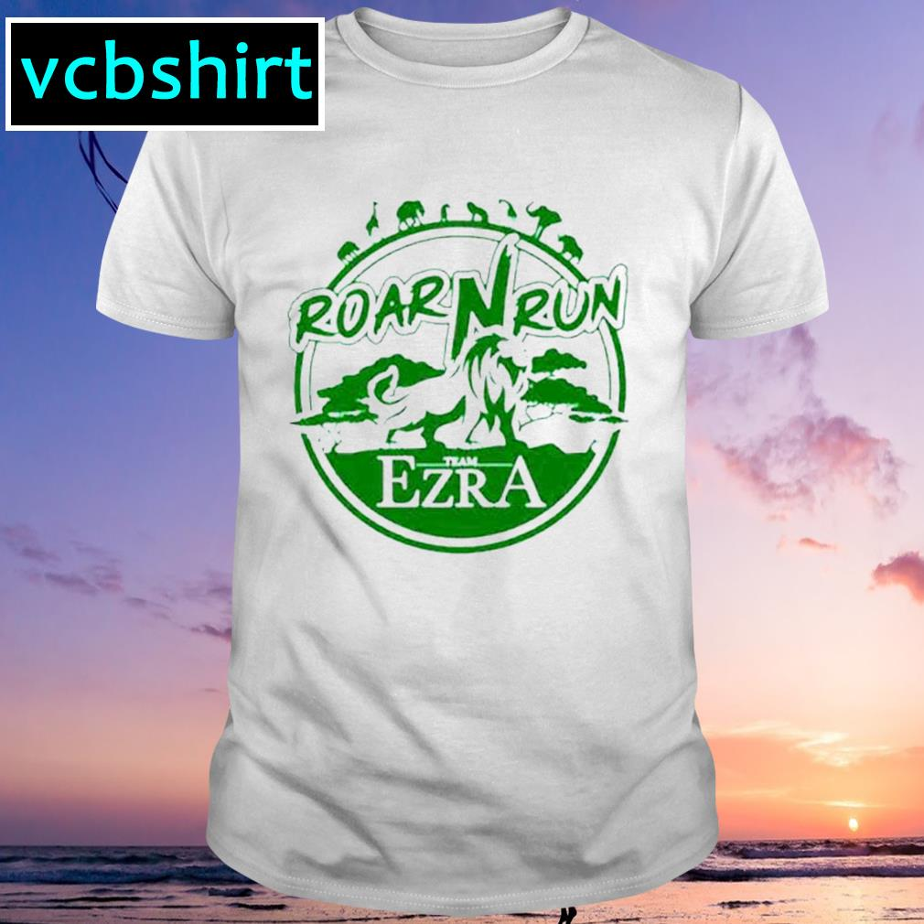 Roar Run team Ezra shirt